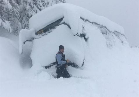 Sneeuw Legt Groot Deel Van Spanje Plat