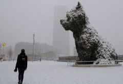 Noord Spanje Geteisterd Door Sneeuw En Kou