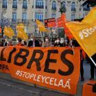 Demonstraties in heel Spanje tegen nieuwe onderwijswet
